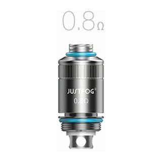 JUSTFOG FOG1 Replacement coils 0.8ohm 1pac(5個入)