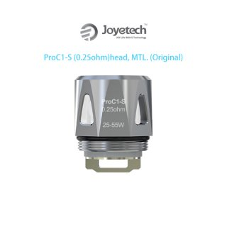 JOYETECH ProC1 Coil Head 0.25ohm (1Pac5個入)