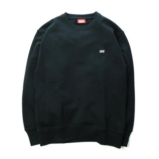 HAIGHT / Heavy Weight Crew Sweat - Black