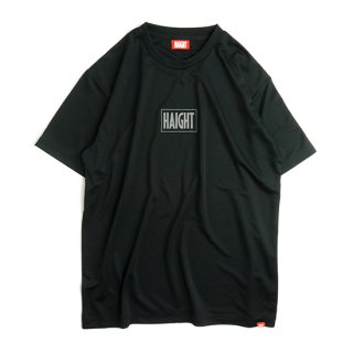 HAIGHT / Box Logo Dry Tee - Black
