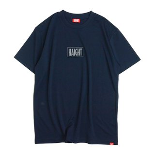 HAIGHT / Box Logo Dry Tee - Navy