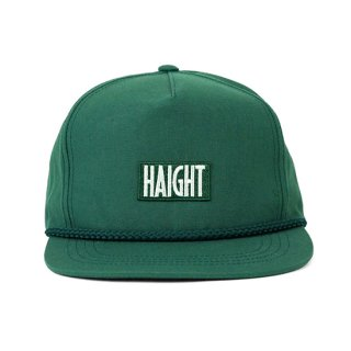HAIGHT / Box Logo Rope Snapback Cap - Green