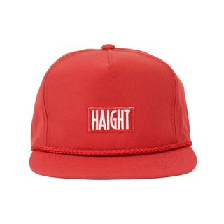 HAIGHT / Box Logo Rope Snapback Cap - Red