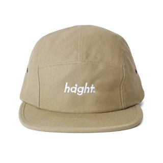 HAIGHT / Round Logo Camp Cap - Khaki