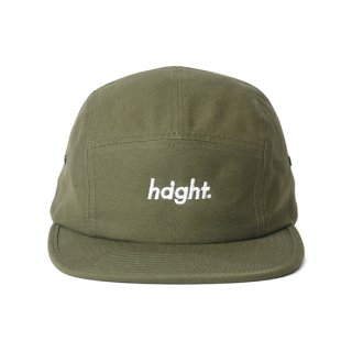 HAIGHT / Round Logo Camp Cap - Olive