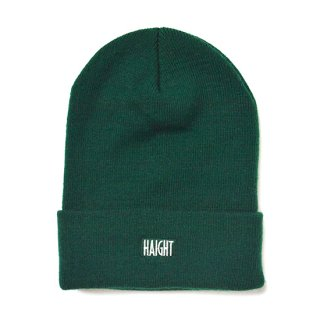 HAIGHT / Box Logo Knit Cap - Green