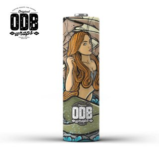 ODB WRAPS /  MERMAID (PACK OF 4)