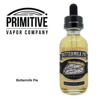 PRIMITIVE VAPOR CO. / BUTTERMILK PIE
