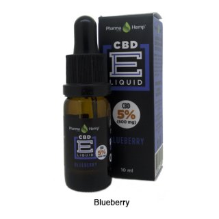 Pharma Hemp / CBD E-Liquid ブルーベリー 10ml / 5%