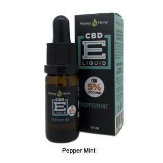 Pharma Hemp / CBD E-Liquid ペパーミント 10ml / 5%