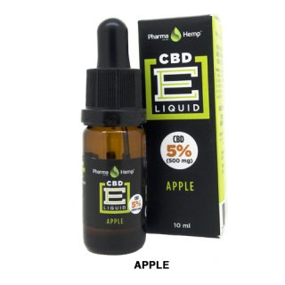 Pharma Hemp / CBD E-Liquid アップル 10ml / 5%