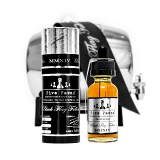 FIVE PAWNS BLACK FLAG FALLEN