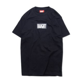 HAIGHT Logo T-Shirt  Black