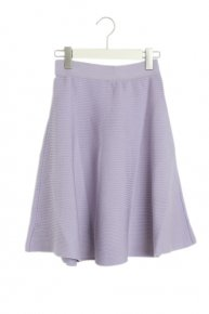 LIB KNIT SKIRT/lavender