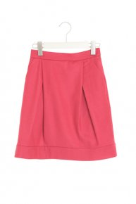 COCOON MINI SKIRT/rose