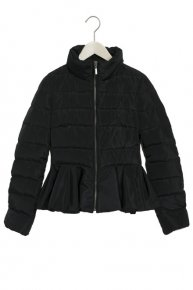 PEPLUM DOWNCOAT/black<img class='new_mark_img2' src='https://img.shop-pro.jp/img/new/icons53.gif' style='border:none;display:inline;margin:0px;padding:0px;width:auto;' />