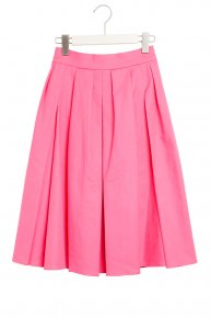 TUCK FLARE SKIRT/pink<img class='new_mark_img2' src='//img.shop-pro.jp/img/new/icons4.gif' style='border:none;display:inline;margin:0px;padding:0px;width:auto;' />