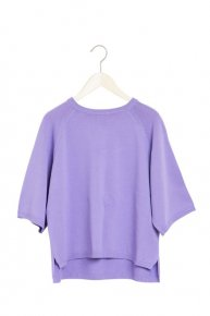 BASIC ZIP KNIT/lavender