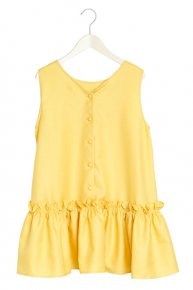 VOLUME FRILL TOPS/yellow