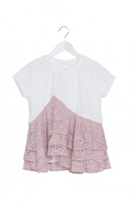 LACE FRILL x C/S/pink