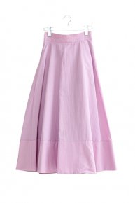 【予約商品】1/9 21:00 new:STITCH FLARE SKIRT/pink