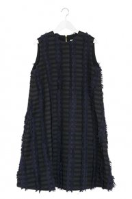 BORDER FRINGE DRESS �/navy<img class='new_mark_img2' src='https://img.shop-pro.jp/img/new/icons1.gif' style='border:none;display:inline;margin:0px;padding:0px;width:auto;' />