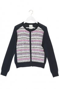 TOURNIER KNIT CARDIGAN/navy<img class='new_mark_img2' src='https://img.shop-pro.jp/img/new/icons1.gif' style='border:none;display:inline;margin:0px;padding:0px;width:auto;' />