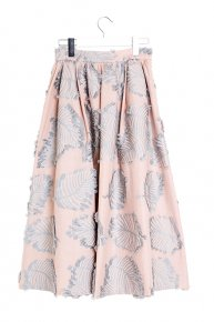 LEAF TUCK SKIRT/pink×blue<img class='new_mark_img2' src='https://img.shop-pro.jp/img/new/icons1.gif' style='border:none;display:inline;margin:0px;padding:0px;width:auto;' />