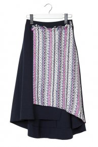 TOURNIER SKIRT/navy<img class='new_mark_img2' src='https://img.shop-pro.jp/img/new/icons1.gif' style='border:none;display:inline;margin:0px;padding:0px;width:auto;' />