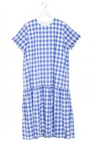 re stock: FRILL COTTON DRESS/gingham blue<img class='new_mark_img2' src='https://img.shop-pro.jp/img/new/icons53.gif' style='border:none;display:inline;margin:0px;padding:0px;width:auto;' />