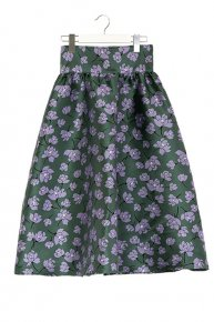 new:FLOWER SKIRT/green×purple<img class='new_mark_img2' src='https://img.shop-pro.jp/img/new/icons53.gif' style='border:none;display:inline;margin:0px;padding:0px;width:auto;' />