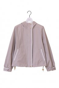 bi-color blouson /beige