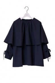 CAPE BLOUSE / navy<img class='new_mark_img2' src='https://img.shop-pro.jp/img/new/icons53.gif' style='border:none;display:inline;margin:0px;padding:0px;width:auto;' />  </a> <span class=