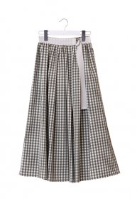 GINGHAM CHECK SKIRT / khaki×white<img class='new_mark_img2' src='https://img.shop-pro.jp/img/new/icons1.gif' style='border:none;display:inline;margin:0px;padding:0px;width:auto;' />  </a> <span class=