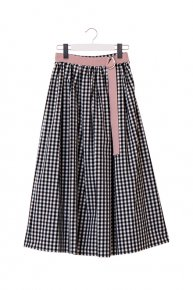 <img class='new_mark_img1' src='https://img.shop-pro.jp/img/new/icons20.gif' style='border:none;display:inline;margin:0px;padding:0px;width:auto;' />【20%OFF】GINGHAM CHECK SKIRT / black×babypink  </a> <span class=