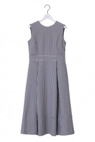 LACE UP DRESS �/  gingham check black<img class='new_mark_img2' src='https://img.shop-pro.jp/img/new/icons1.gif' style='border:none;display:inline;margin:0px;padding:0px;width:auto;' />  </a> <span class=