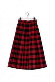 new: block  check tuck skirt/ red<img class='new_mark_img2' src='https://img.shop-pro.jp/img/new/icons1.gif' style='border:none;display:inline;margin:0px;padding:0px;width:auto;' />  </a> <span class=