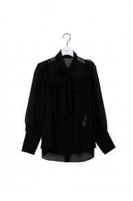Bowtie blouse /black <img class='new_mark_img2' src='https://img.shop-pro.jp/img/new/icons1.gif' style='border:none;display:inline;margin:0px;padding:0px;width:auto;' />  </a> <span class=