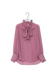 re stock: frill frill bowtie blouse/ pink<img class='new_mark_img2' src='https://img.shop-pro.jp/img/new/icons53.gif' style='border:none;display:inline;margin:0px;padding:0px;width:auto;' />  </a> <span class=