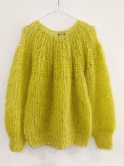 <img class='new_mark_img1' src='//img.shop-pro.jp/img/new/icons14.gif' style='border:none;display:inline;margin:0px;padding:0px;width:auto;' />Maimai Berlin/Mohair Pleated Sweater