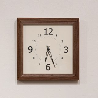 Lib Clock Brown