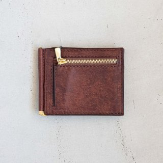 Pueblo Money Clip〈Brown〉