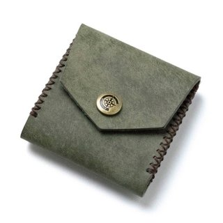 Square Coin Case〈Khaki〉