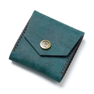 Square Coin Case〈Blue〉