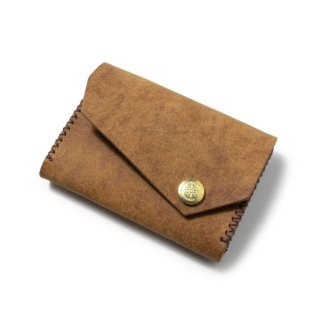 Wide Card Case〈Camel〉