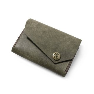 Wide Card Case〈Khaki〉