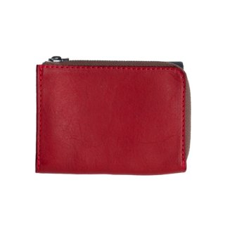 L-Type Short Wallet〈Red〉
