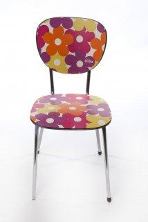 lola ロラ インテリア DIY用 PVC デザインシート のり付き 45cm×3m メルローズフクシア