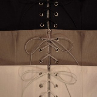 Original Made Corset Belt 【White, Beige, Black】
