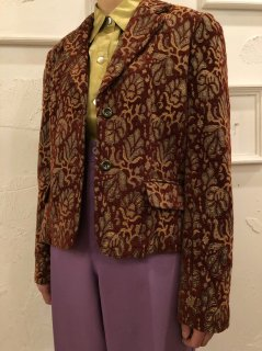 Vintage Goblins Tailored Jacket Brown